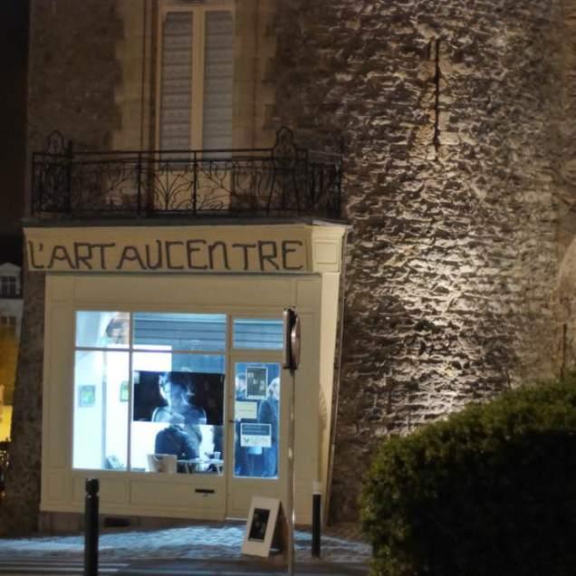 Devanture exposition Art & RV